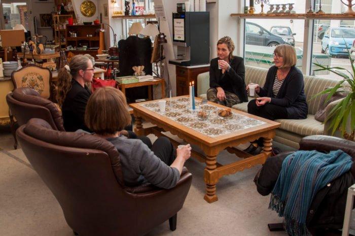 Besøg cafeen hos Genbrugshallerne i Odense